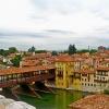 Covered Bridge in Veneto