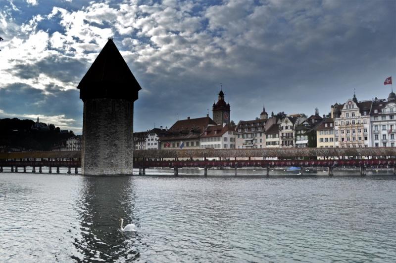 Tower at Kapell Bridge
